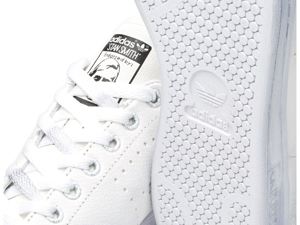 Adidas Chaussuers Homme/Femme x Raf Simons Stan Smith Aged Blanc S74619