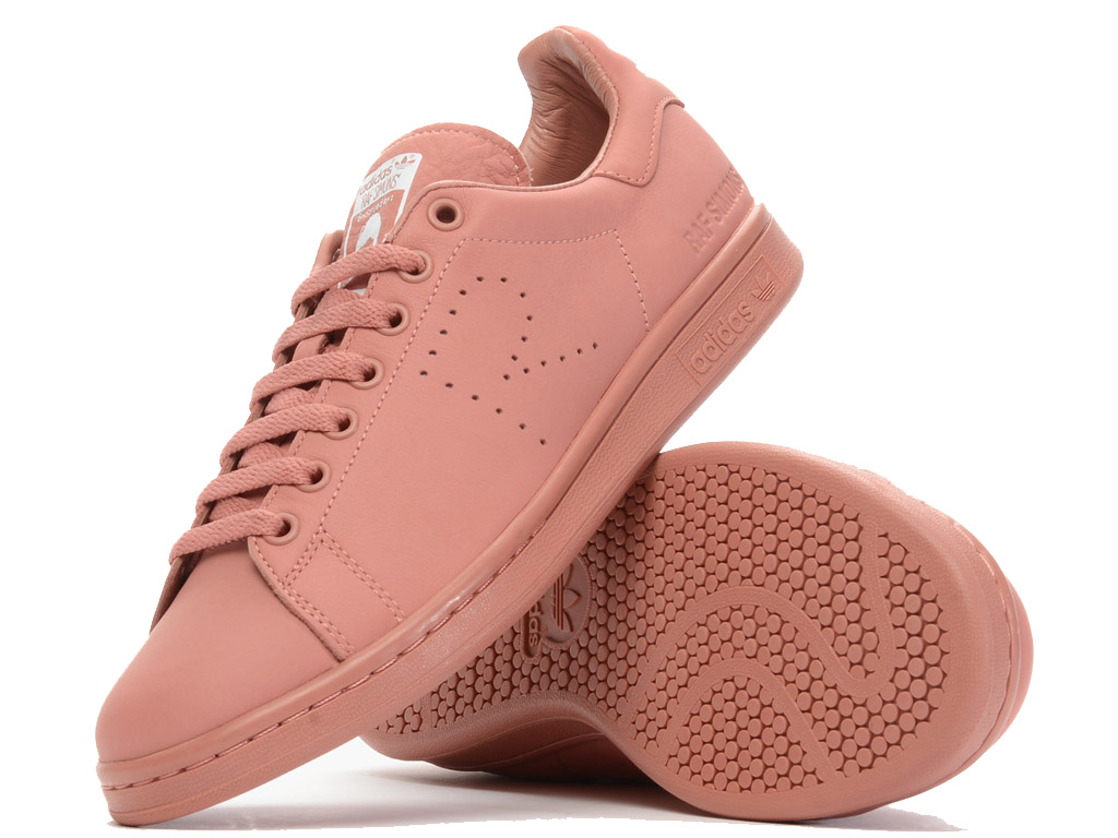 Adidas Chaussuers Homme/Femme x Raf Simons Stan Smith Ash Pink AQ2646