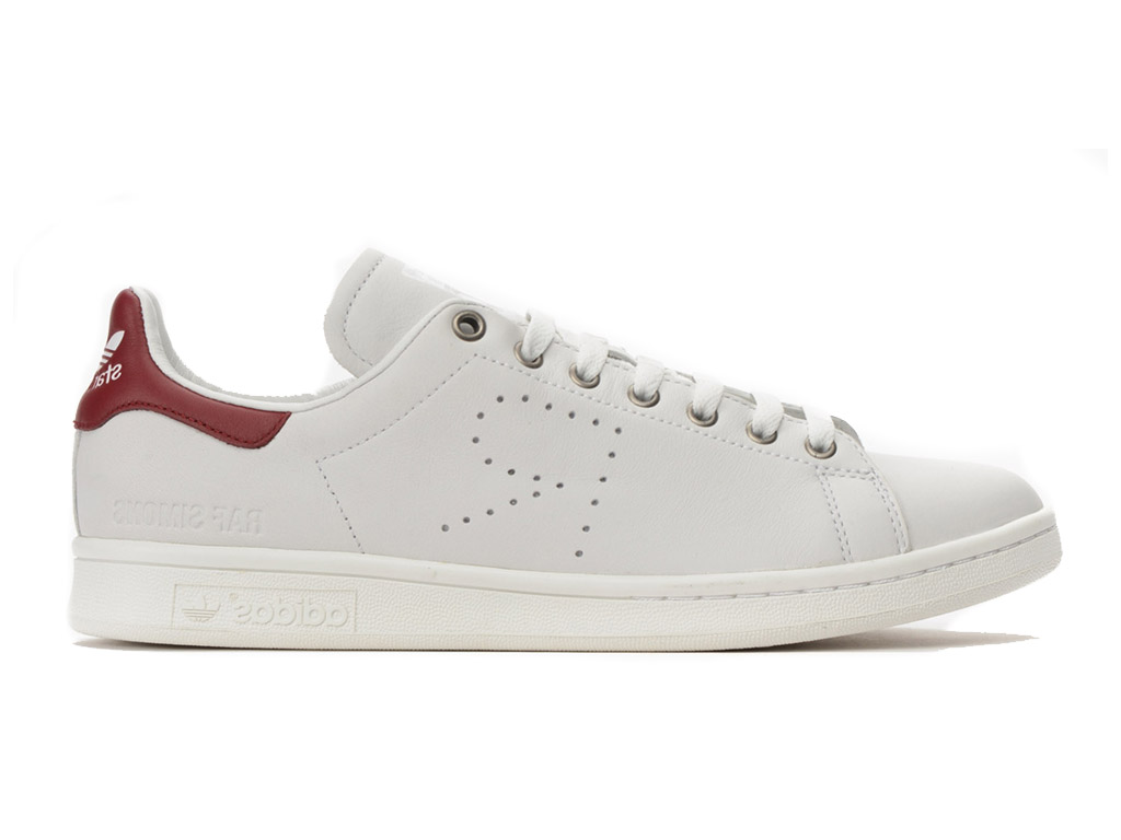 Adidas Chaussuers HommeFemme x Raf Simons Stan Smith Argent