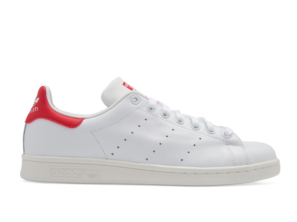 Adidas Chaussuers Homme/Femme x Raf Simons Stan Smith Collegiate Red M20326