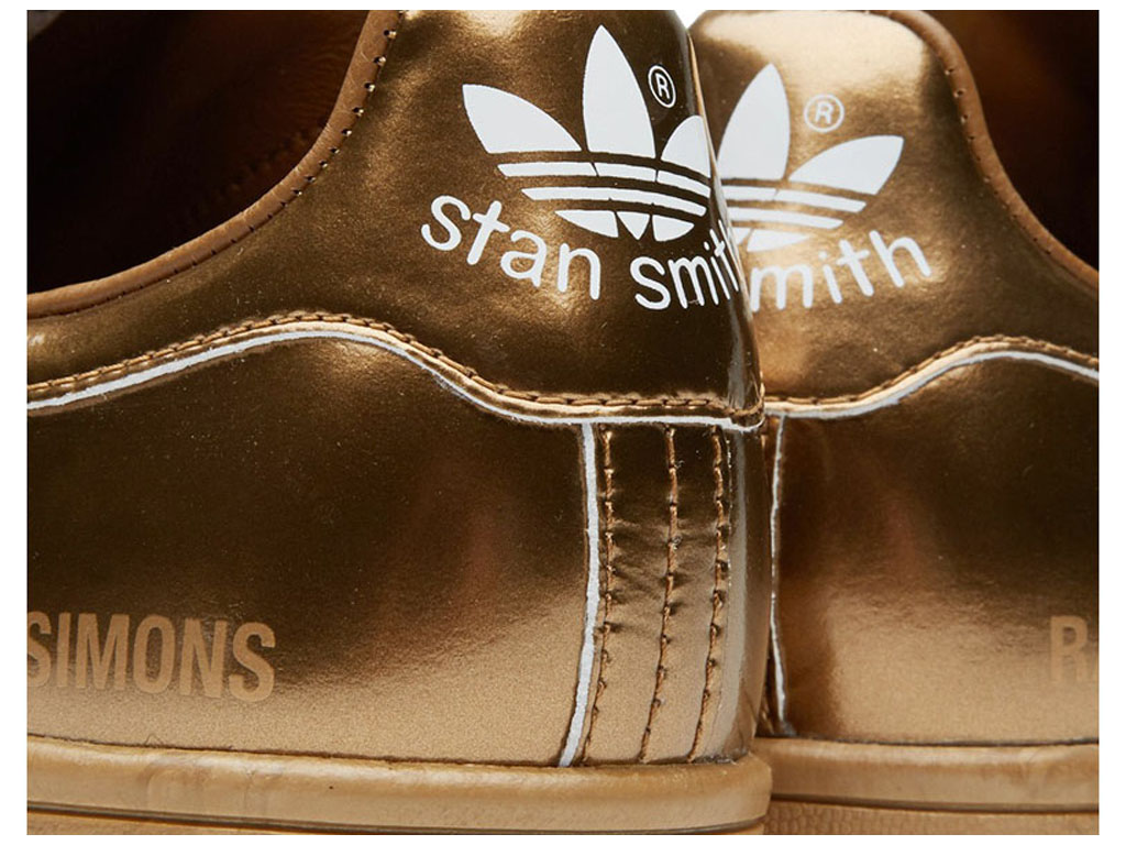 Adidas Chaussuers Homme/Femme x Raf Simons Stan Smith Copper Metallic S75937