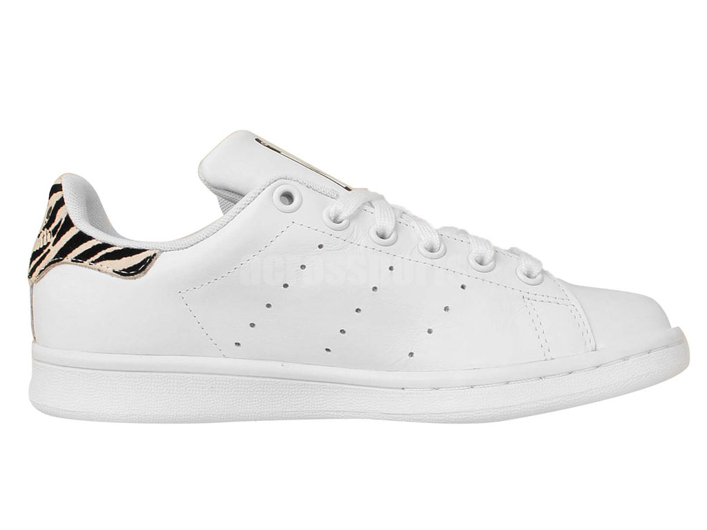 Adidas Chaussuers Homme/Femme x Raf Simons Stan Smith White Light Brown S75281