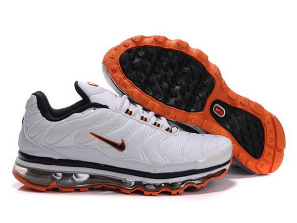 Air Max Nike Tn Requin 2009 Chaussures Pas Cher Pour Homme Blanc ...