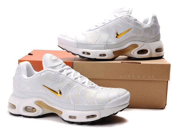 Air Max Nike Tn Requin/Nike Tuned 1 Chaussures Officiel Nike Pour Homme  Blanc/Or-1507080729-Officiel Nike Site! Chaussures Tn Distributeur France.