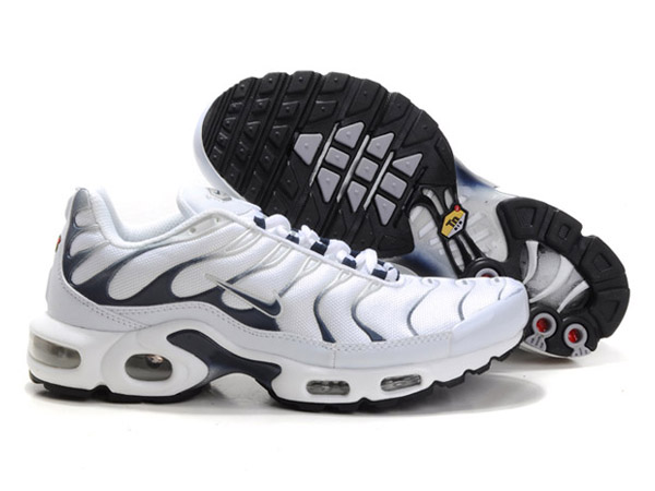 Air Max Nike Tn Requin/Nike Tuned 1 Chaussures Officiel Tn Pour Homme Blanc/Gris