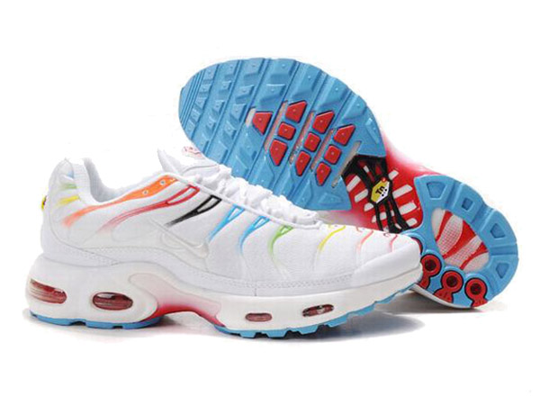 pretty nice 00925 ddfe5 Nike Air Max Tn Requin/Nike Tuned 1 Shoes Cheap For Men White/Red ...