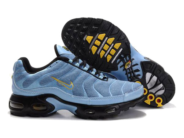 Air Max Nike Tn Requin/Nike Tuned 1 Chaussures Officiel Tn Pour Homme Bleu/Jaune