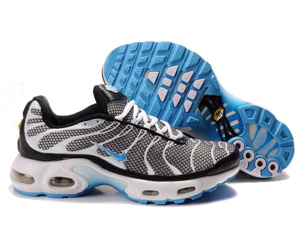 Air Max Nike Tn Requin/Nike Tuned 1 Chaussures Officiel Tn Pour Homme Gris/Blanc/Bleu
