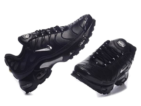 Air Max Nike Tn Requin/Nike Tuned 1 Chaussures Officiel Tn Pour Homme Noir/Argent