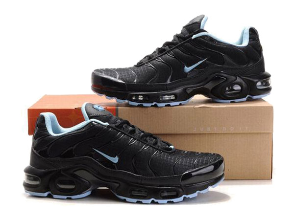 huge discount 7359c 24145 ... Air Max Nike Tn Requin Nike Tuned 1 Chaussures Officiel Tn Pour Homme  Noir