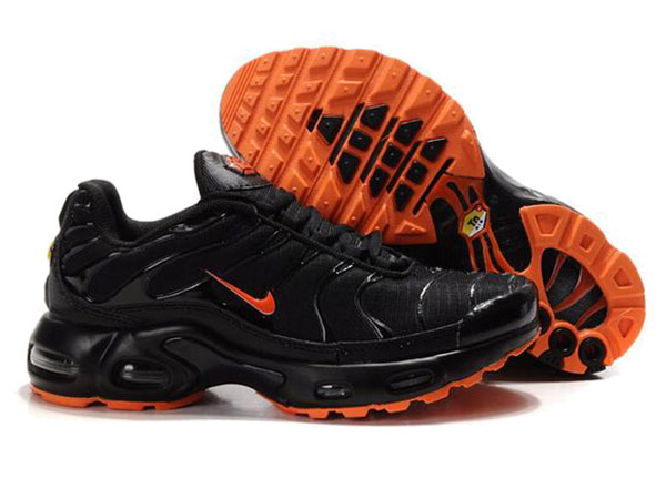 Air Max Nike Tn Requin/Nike Tuned 1 Chaussures Officiel Tn Pour Homme Noir/Orange