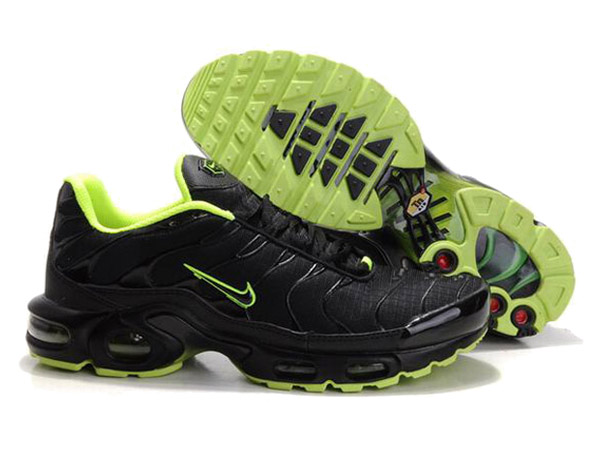Air Max Nike Tn Requin/Nike Tuned 1 Chaussures Officiel Tn Pour Homme Noir/Vert