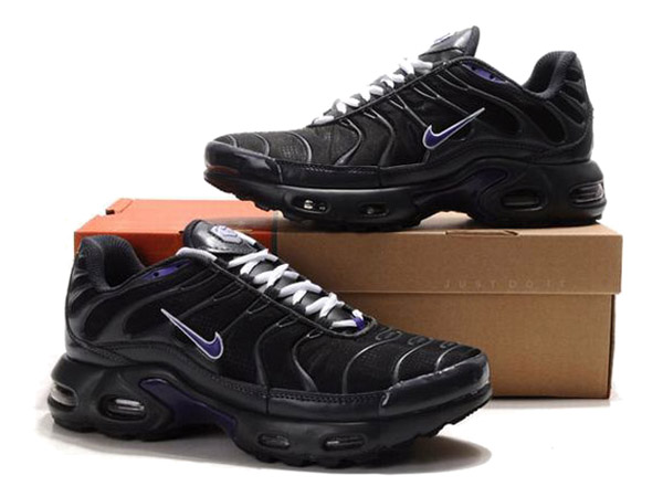 Air Max Nike Tn Requin/Nike Tuned 1 Chaussures Officiel Tn Pour Homme Noir/Violet