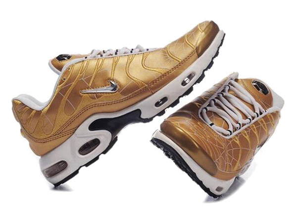 Air Max Nike Tn Requin/Nike Tuned 1 Chaussures Officiel Tn Pour Homme Or