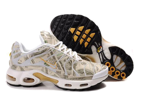 01aa6a4ae6 Nike Air Max Tn Requin/Nike Tuned 1 Shoes Cheap For Men Blanc/Or ...
