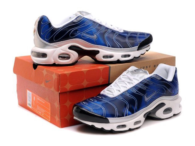 los angeles bc8d1 bccd1 ... Air Max Nike Tn Requin Nike Tuned 1 Chaussures Pas Cher Pour Homme Bleu