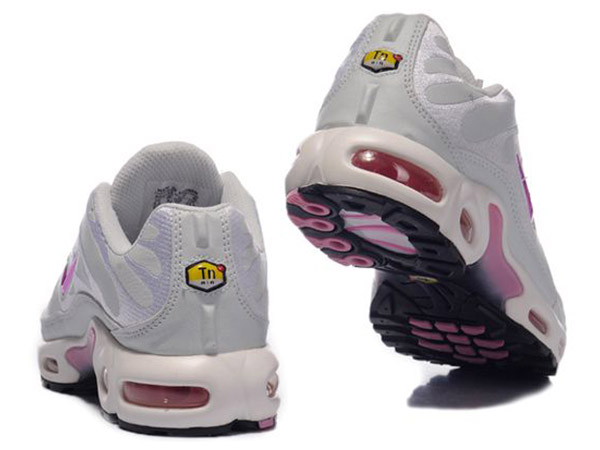 Air Max Nike Tn Requin/Nike Tuned Chaussures Pas Cher Pour Femme Blanc/Pink