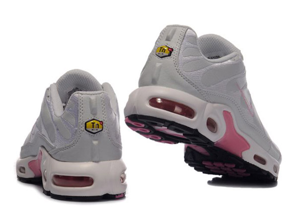 Air Max Nike Tn Requin/Nike Tuned Chaussures Pas Cher Pour Femme Gris/Pink