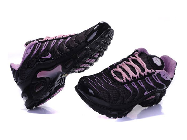 Air Max Nike Tn Requin/Nike Tuned Chaussures Pas Cher Pour Femme Noir/Pink