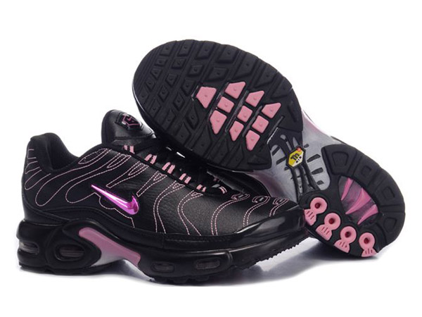 Air Max Nike Tn Requin/Nike Tuned Chaussures Pas Cher Pour Femme Pink/Noir