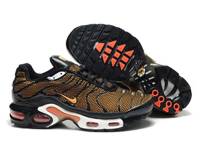 Air Max Nike Tn Requin/Tuned 2013 Chaussures Pas Cher Pour Homme Brun/Orange