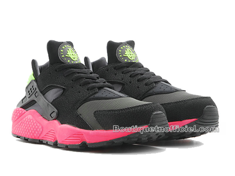 online store d6e69 b2b0f ... Nike Air Huarache - Men´s Nike Sportswear Shoes Anthracite Hyper  Punch-Electric ...