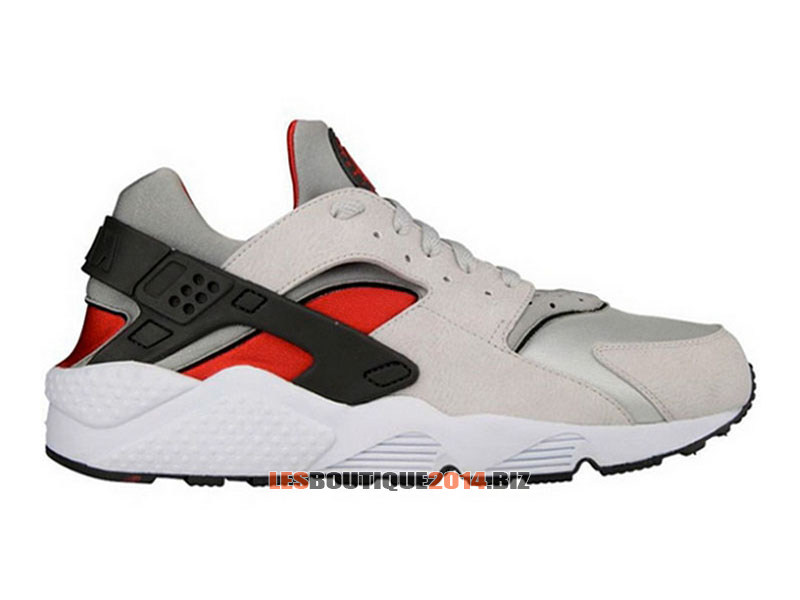 Nike Air Huarache LE Men´s Nike Sportswear Shoe Neutral GreyUniversity Red White 1507081304 Nike Official Website! Tn shoes Distributor France.