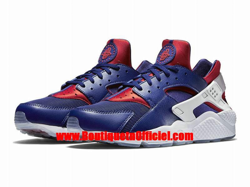 timeless design d3a6a bb765 ... Nike Air Huarache Run Premium Men´s Nike Sportswear Shoes Blue Red White