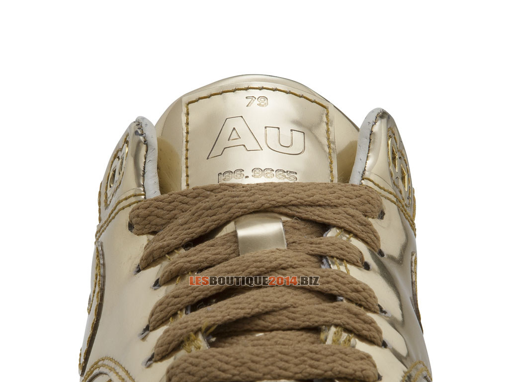 Nike Air Max 1/87 SP - Nike Running Chaussures Pas Cher Pour Homme Metallic Gold/Sail 616170-70