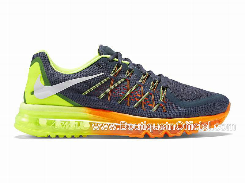 Nike Air Max 2015 Men´s Nike BasketBall Shoes Classic Charcoal/Volt/Total