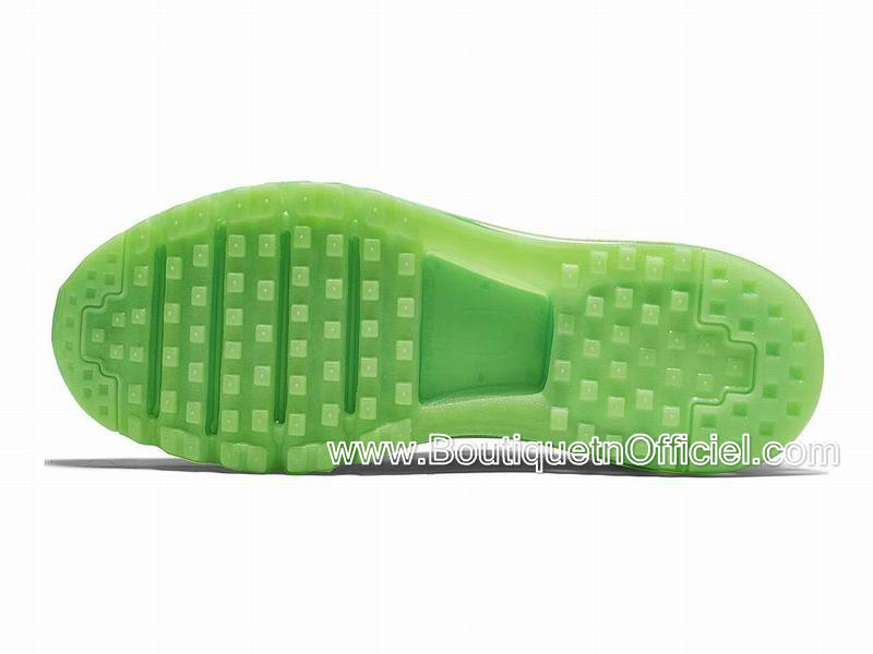 Nike Air Max 2015 Chaussures Nike BasketBall Pas Cher Pour Homme Loup Gris/Vert Glow 698902-005