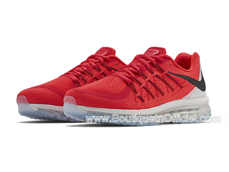 air max 2015 rouge pas cher