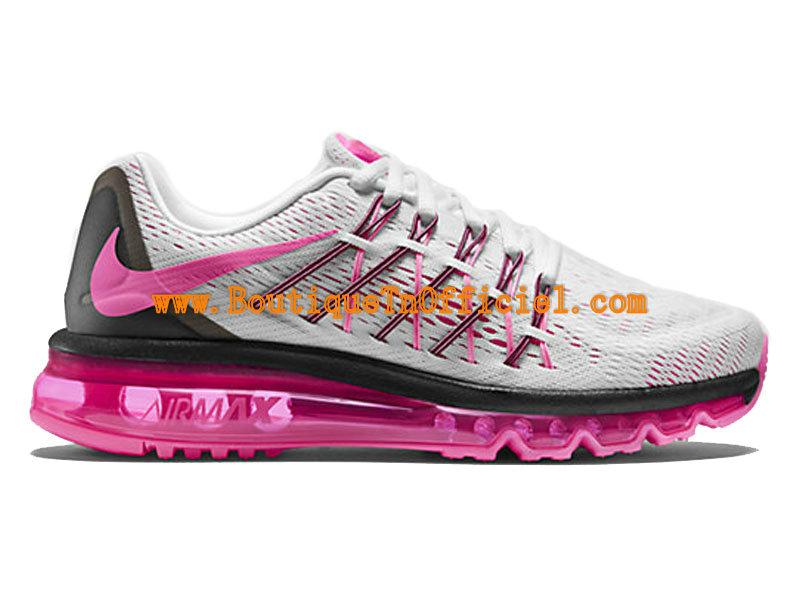 hot sale online e338a a233e Nike Air Max 2015 GS Women´s Shoes BlancNoirRose framboise 698903 ...
