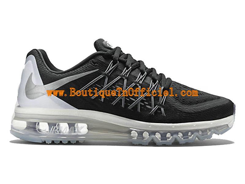 Nike Air Max 2015 GS Women´s Shoes Noir Blanc 698903-001-1507081443 ... 04f53c0553ca