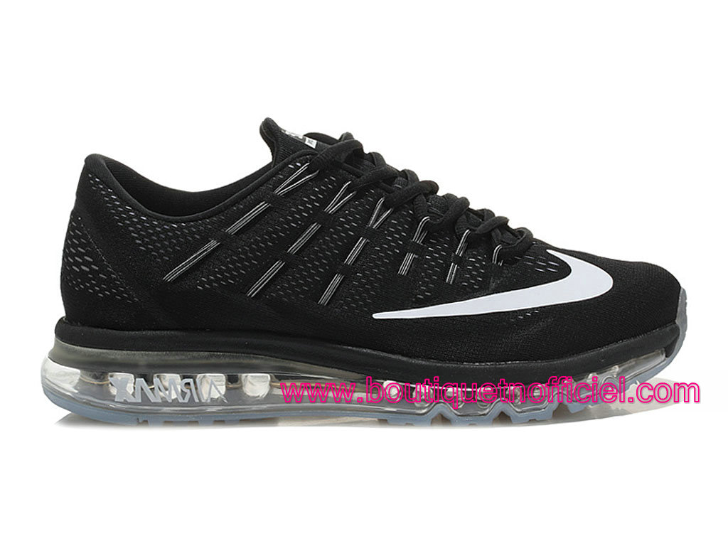premium selection 79b31 2e356 Nike Air Max 2016 Men´s Running Shoes Black White