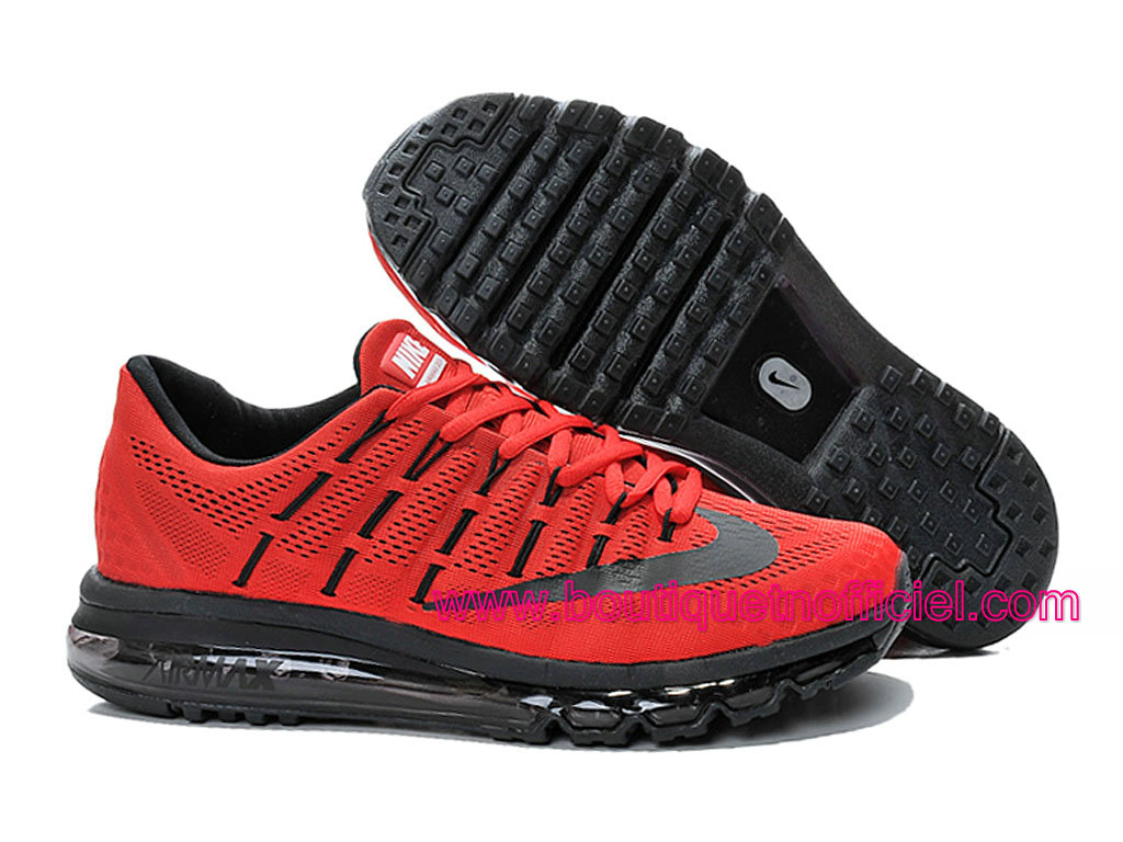 ... Nike Air Max 2016 Men´s Running Shoes Red/Black ...