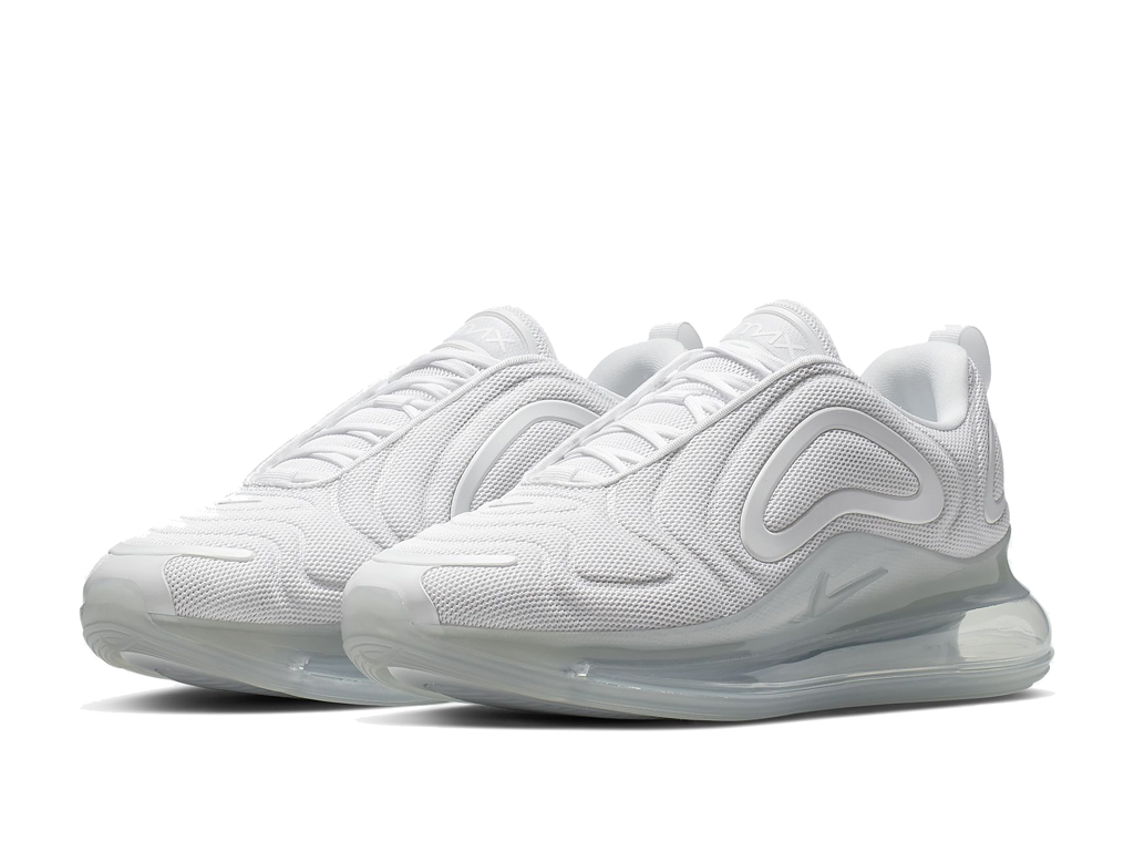 Nike Air Max 720 Chaussures de Running 2019 Pas Cher Pour Homme Blanc AO2924-100