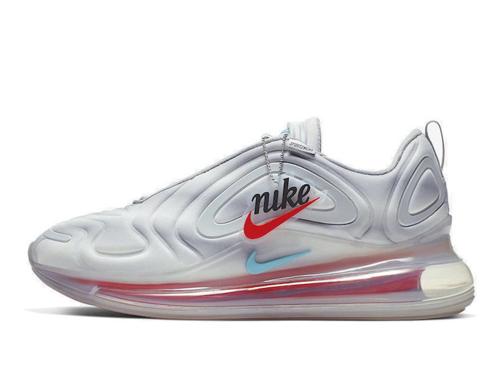Nike Air Max 720 Chaussures de Running 2019 Pas Cher Pour Homme Gris Rose AO2924-011