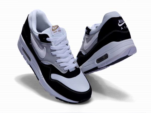 new product 8090e d385f ... Nike Air Max 87 Essential - Nike Max Pas cher Men´s Shoes Black White  ...