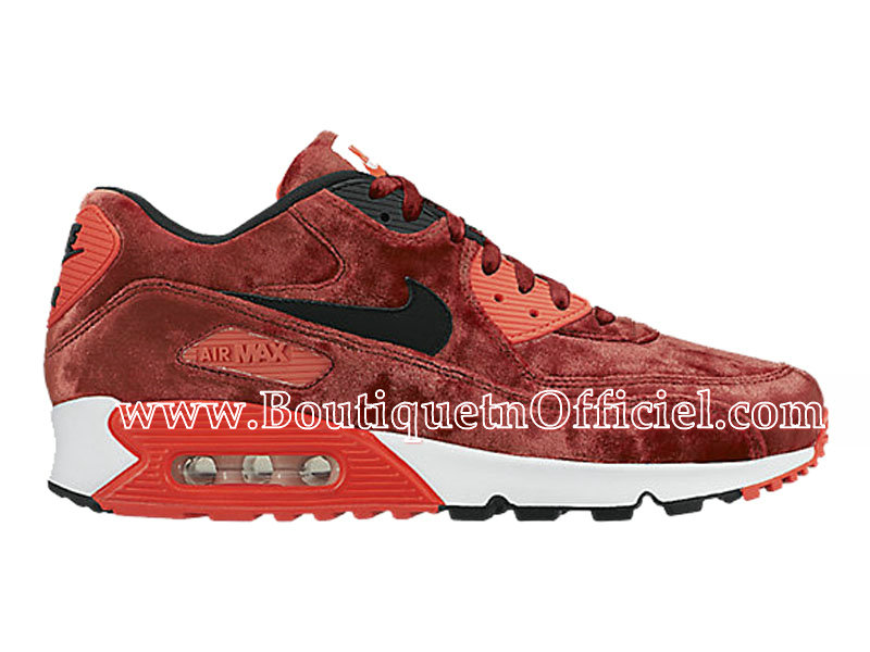 Nike Air Max 90 Anniversary Chaussures Pour Homme Rouge/Noir 725235-600
