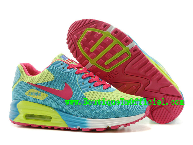 Nike Air Max 90 Hyperfuse Premium GS - Chaussures Nike Running Pas Cher Pour Femme/Fille