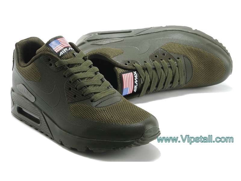 Nike Air Max 90 Hyperfuse USA Chaussures de BasketBall Pour Homme