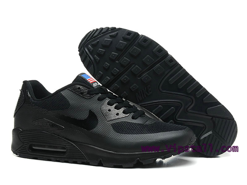 Nike Air Max 90 Hyperfuse USA Chaussures de BasketBall Pour Homme Noir 454446 007 Officiel Nike Site! Chaussures Tn Distributeur France.