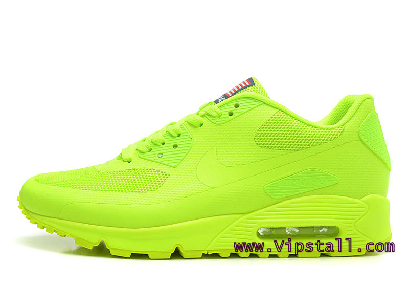 Nike Air Max 90 Hyperfuse USA Chaussures de BasketBall Pour Homme Vert 209299-401