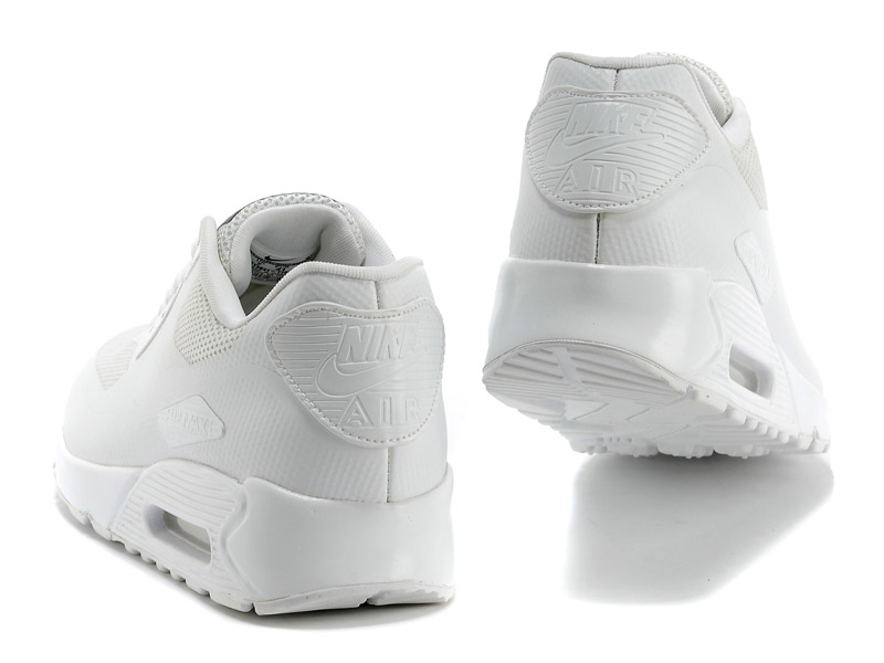 Nike Air Max 90 Hyperfuse USA Chaussures Pour Femme Blanc 613841-110