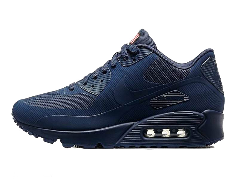 Nike Air Max 90 Hyperfuse USA Chaussures Pour Homme Midnight Navy 613841-440