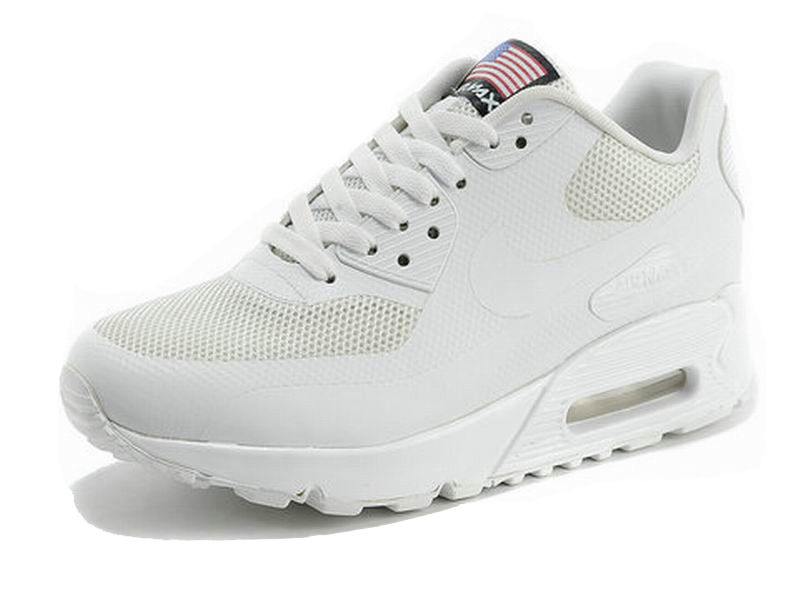 Nike Air Max 90 Hyperfuse USA Chaussures Pour Homme White 613841-110