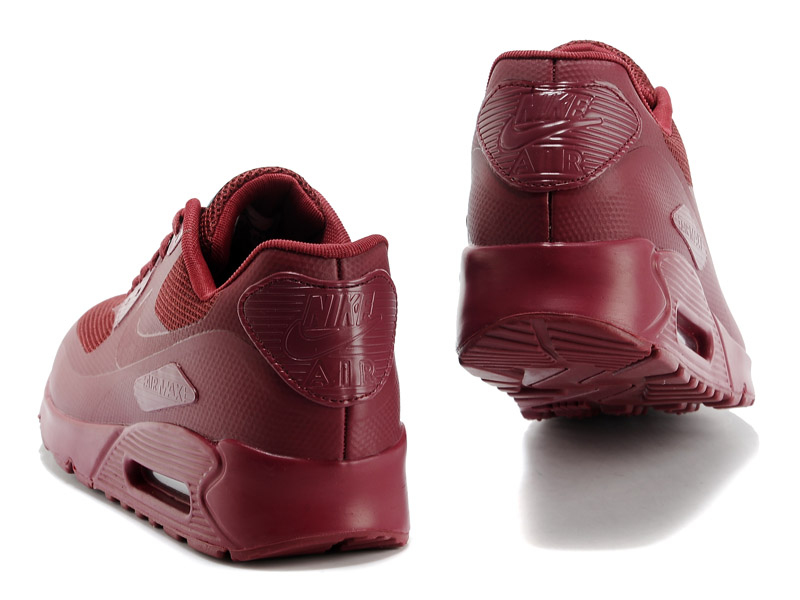 Nike Air Max 90 Hyperfuse USA GS Chaussures Pour Femme Bourgogne