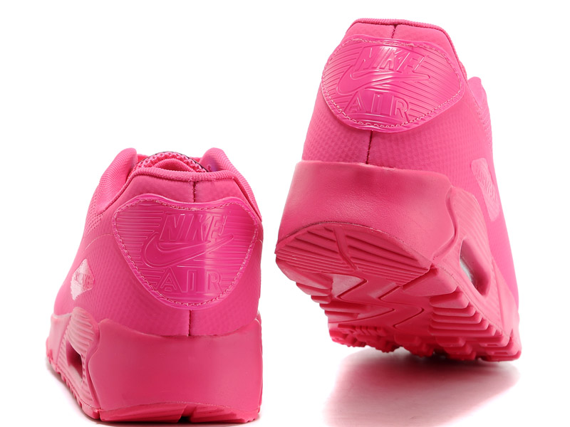 Nike Air Max 90 Hyperfuse USA GS Chaussures Pour Femme Deep Rose