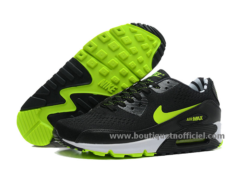 super popular dea51 17eaf ... Nike Air Max 90 Premium EM Men´s BasketBall Shoes Black Green 554719-  ...